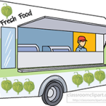 Tomatillo courtesy of OpenClipArt.org. Food Truck courtesy of ClassroomClipArt.org. Clip arts combined in Photoshop CS6.