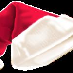 Santa's cap courtesy of OpenClipart.org/prapanj